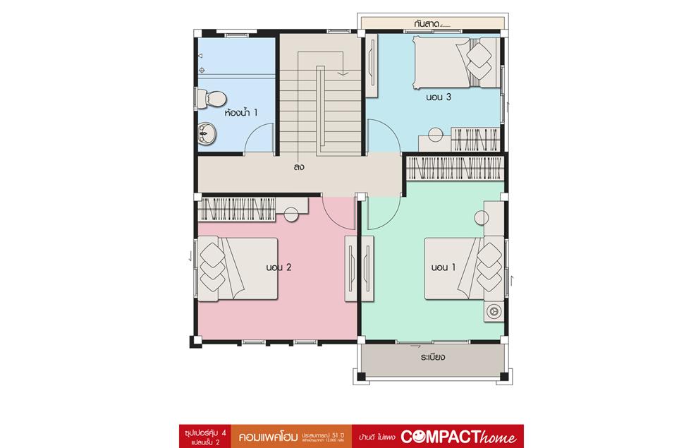 Floor 2 ซุปเปอร์คุ้ม 4 (BG5)