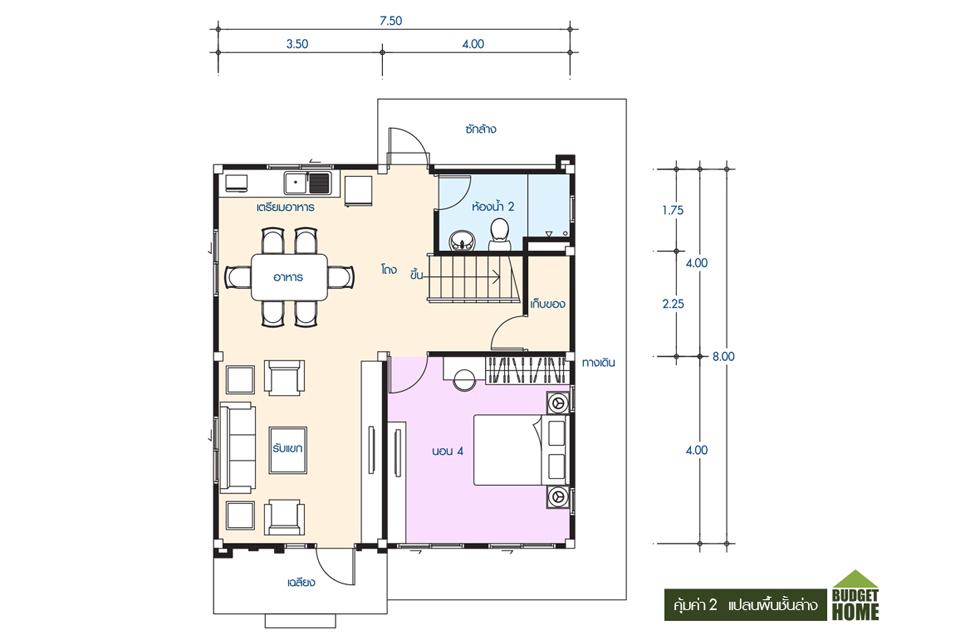 Floor 2 คุ้มค่า 2