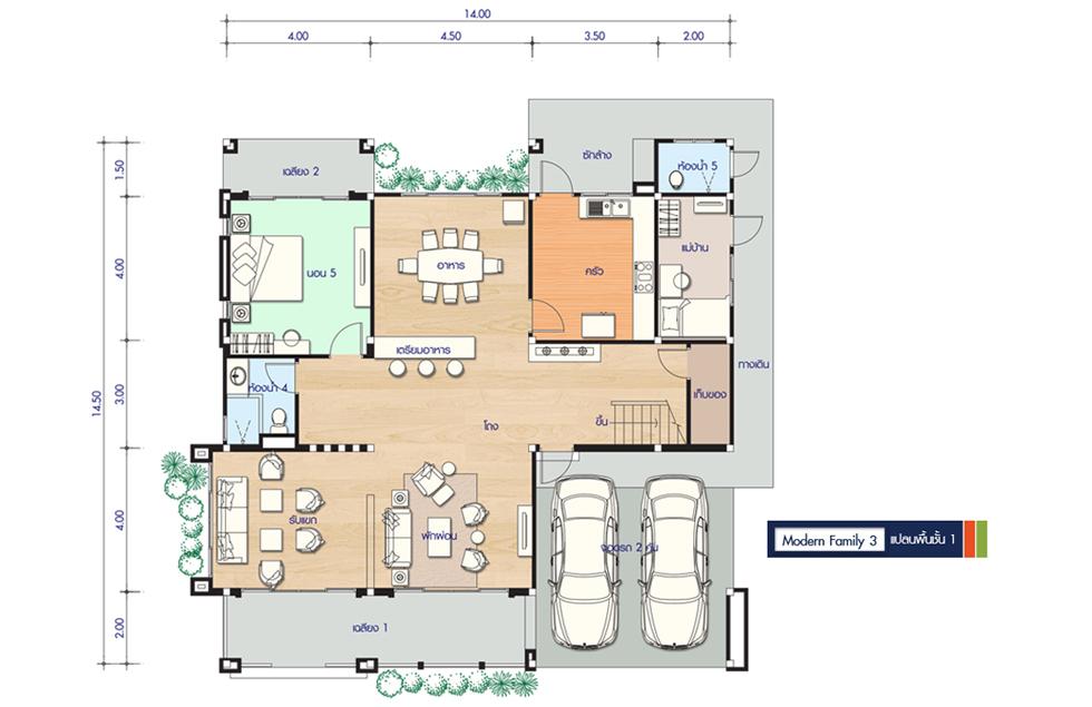 Floor 1 Modern Family 3