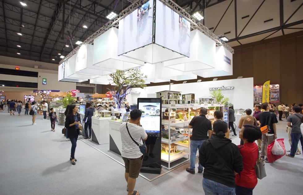 ภาพบรรยากาศงาน Home Builder & Materials Expo 2019